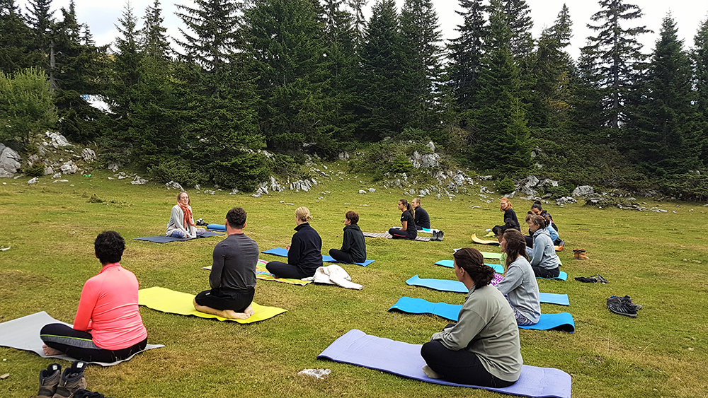 Hiking and Yoga trip in Hajla - Butterfly Outdoor Adventure