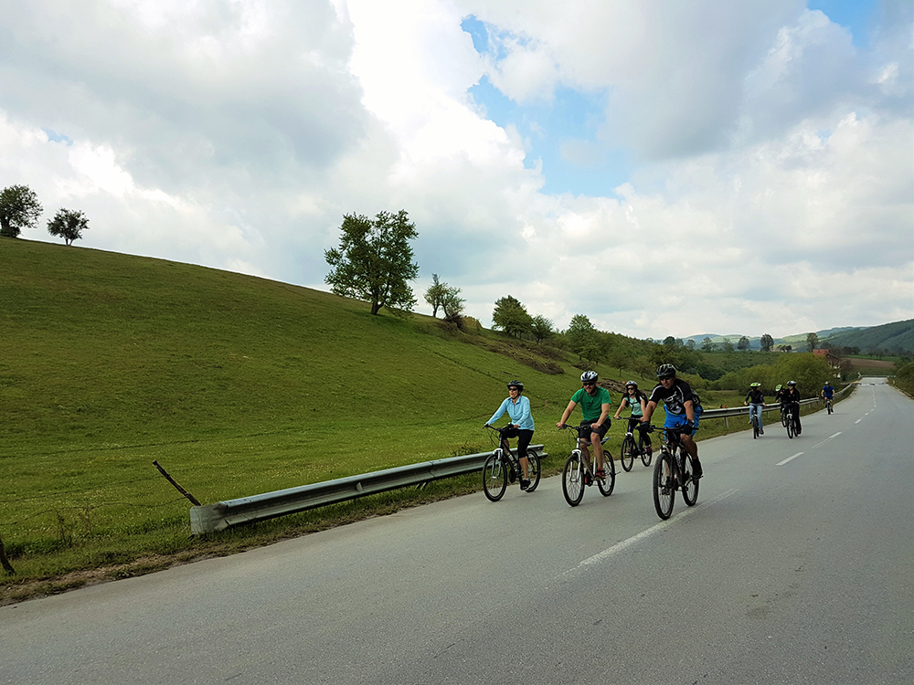 Adventures of the Cycling Squad around Badovci