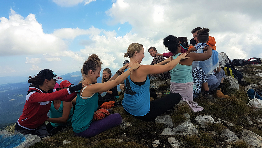 Align your chakras in Hajla Peak