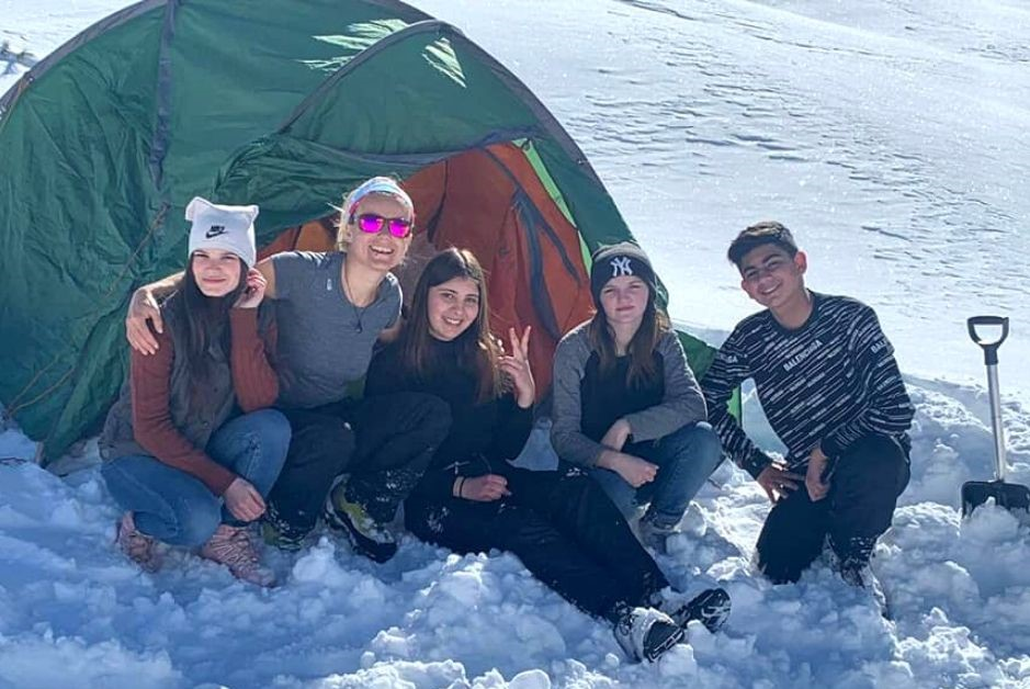 Workshop on winter camping with Butterfly Outdoor Adventure
